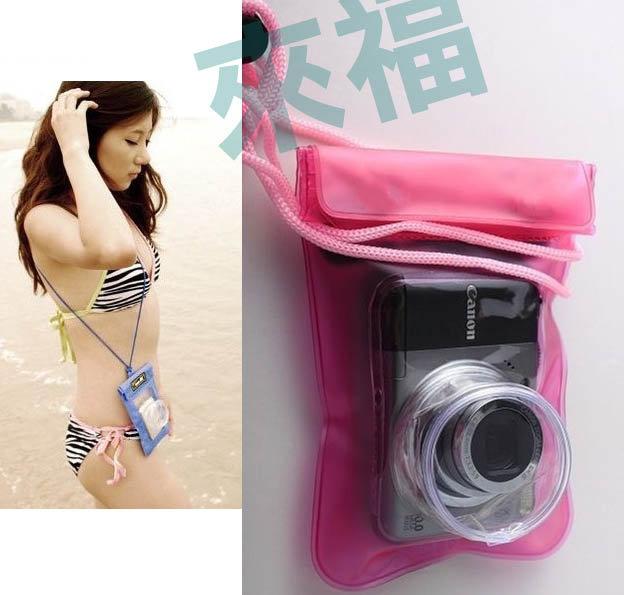 來福,伸縮鏡頭游泳相機/手機防水袋,直購價130元,現+預7-10