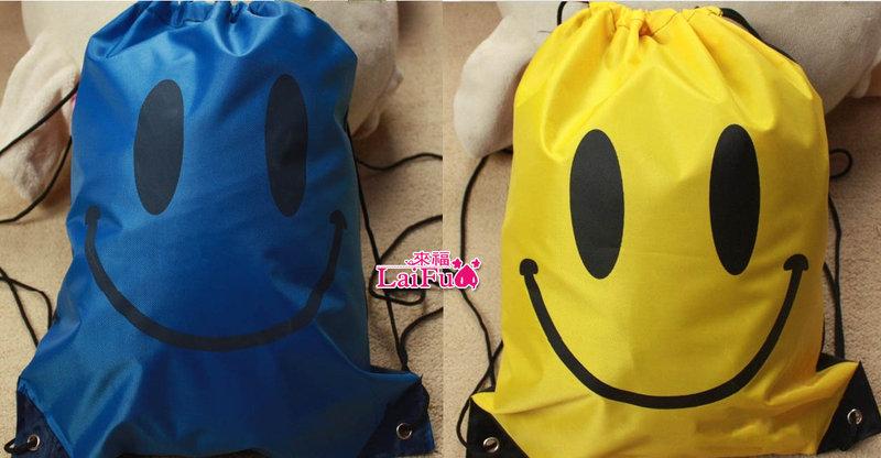 來福,笑臉輕便游泳包包防水包購物袋游泳衣泳裝比基尼可攜帶,直購價150元,現+預7-10