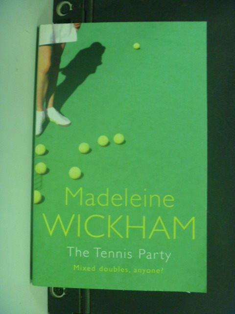 【書寶二手書T3/原文小說_KIW】The Tennis Party_Madeleine