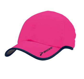 [陽光樂活]BROOKS 慢跑帽 BROOKS HAT II- BK280239605? 夜光粉紅??