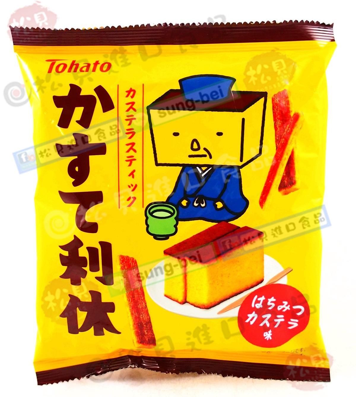 東鳩利休君條餅(蜂蜜蛋糕)43g【4901940036387】