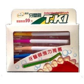 T.KI 鐵齒牙間刷 5入/盒★愛康介護★