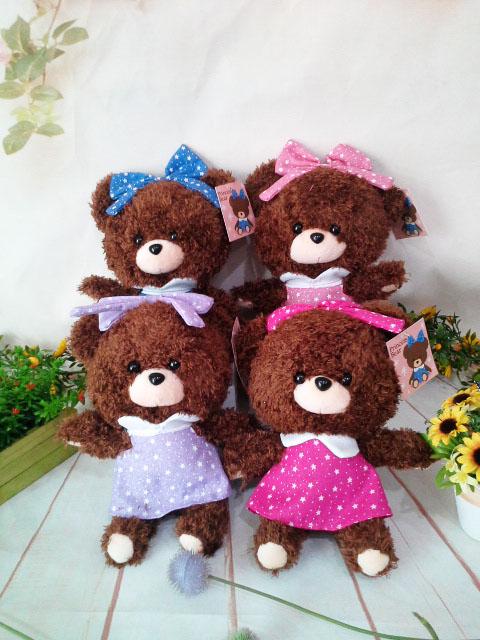 ~*My 71*~  絨毛娃娃 6吋 星星公主熊 高 24cm 玩偶  吊飾 泰迪熊  兒童 玩具 情人 禮物
