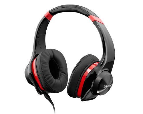 日本 DENON AH-D320 (紅色)耳罩式耳機,公司貨,一年保固,