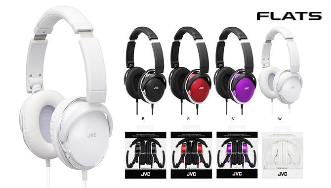 JVC HA-S660 (附收納袋) 新款輕量型頭戴摺疊耳罩式耳機 ,公司貨附保卡,保固一年