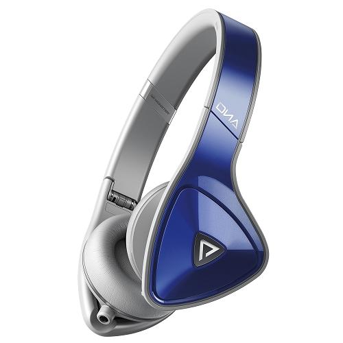MONSTER DNA ON-EAR (藍色) 耳罩式耳機,公司貨,附保卡,保固一年