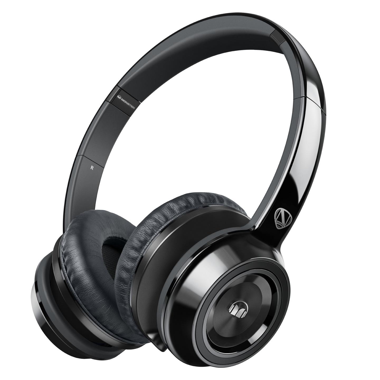 美國 Monster N-TUNE V2 with ControlTalk (黑色)耳罩式線控耳機,公司貨,保固一年