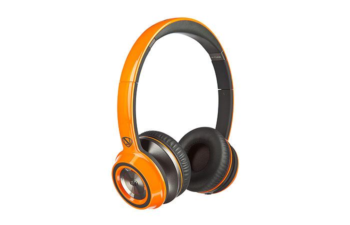 美國 Monster N-TUNE V2 with ControlTalk (橘色)耳罩式線控耳機,公司貨,保固一年