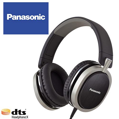 Panasonic RP-HX550 (黑色) 支援dtsX™ 11.1ch音效,金屬髮絲紋,頭戴耳罩式耳機,公司貨,附保卡,兩年保固