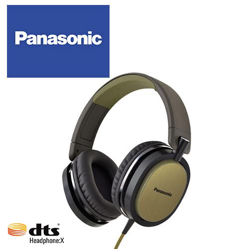Panasonic RP-HX550 (金色) 支援dtsX™ 11.1ch音效,金屬髮絲紋,頭戴耳罩式耳機,公司貨,附保卡,兩年保固