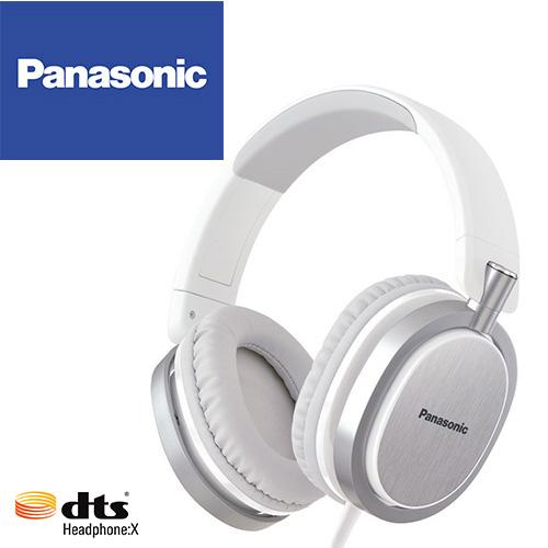 Panasonic RP-HX550 (白色)支援dtsX™ 11.1ch音效 ,金屬髮絲紋,頭戴耳罩式耳機