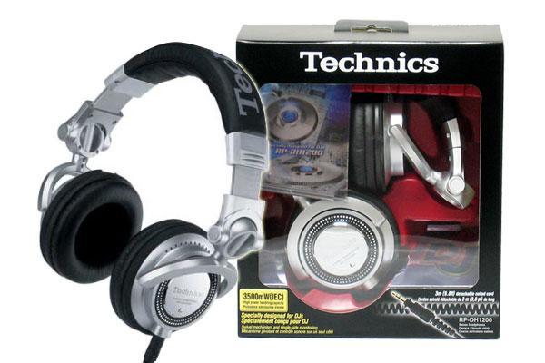 日本製Technics RP-DH1200 專業DJ耳罩式耳機 ,台灣松下公司貨,保固兩年