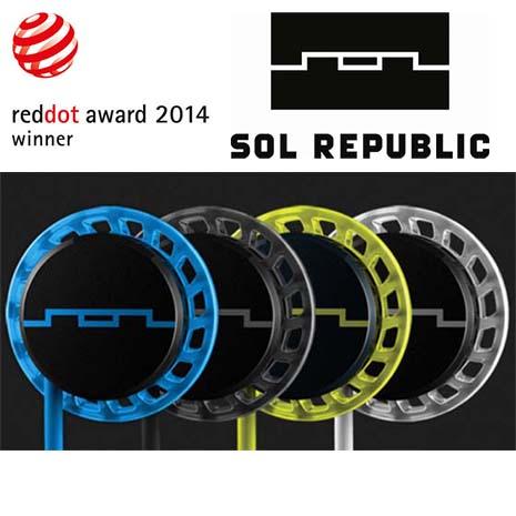 美國 SOL REPUBLIC Relays 運動防水防汗三鍵式入耳式耳機附通話麥克風,公司貨保固一年