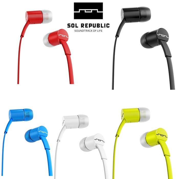 美國 SOL REPUBLIC JAX 平價美聲 超高C/P值 單鍵入耳式耳機,公司貨保固一年