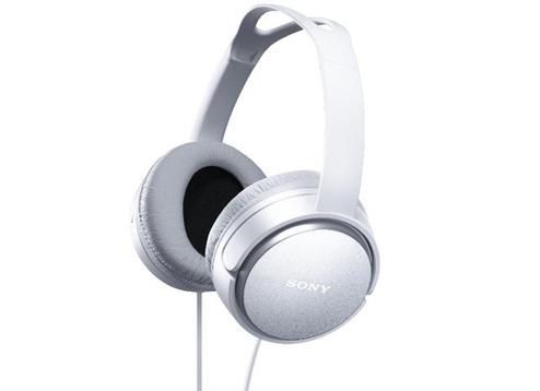 SONY MDR-XD150 (白色) 重低音立體聲耳罩式耳機,公司貨,附保卡,保固一年