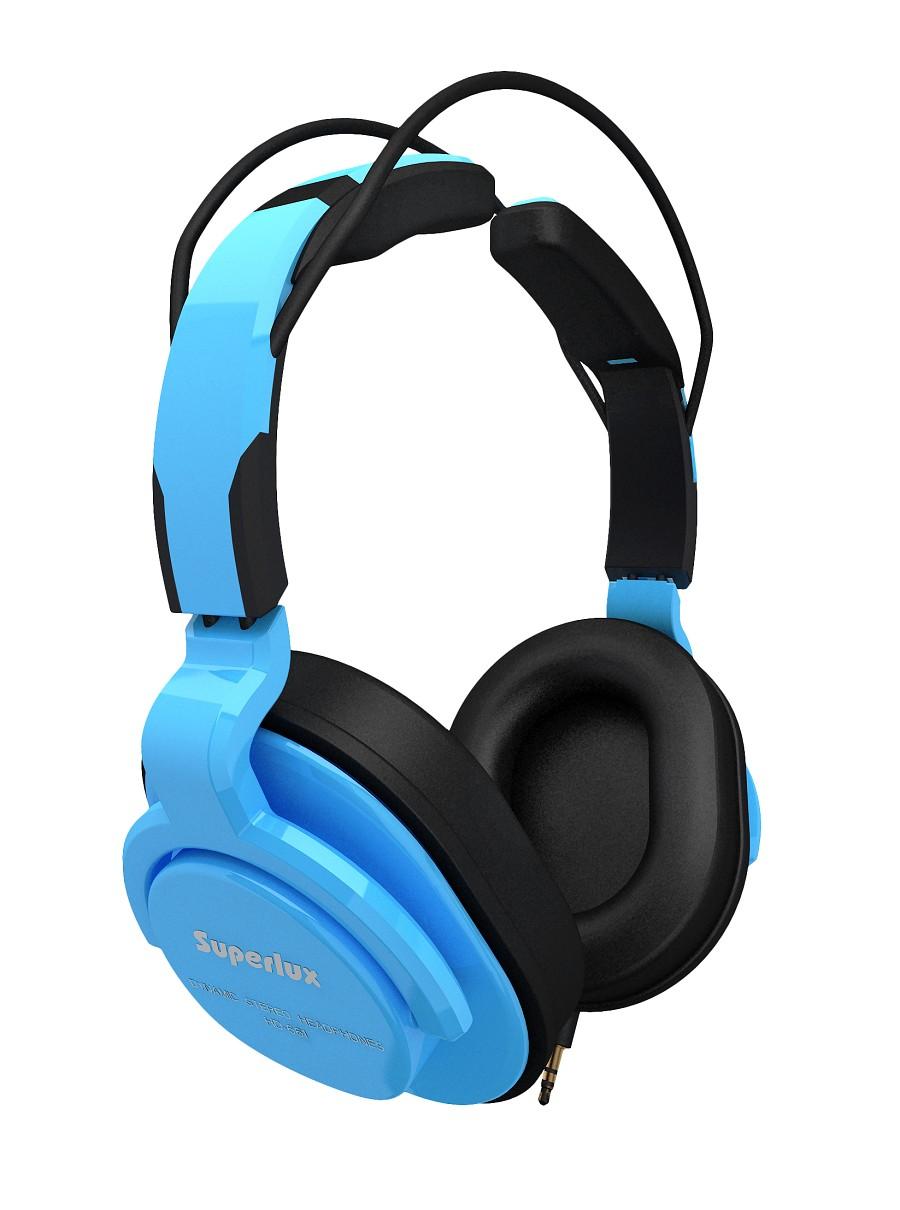 Superlux 舒伯樂 HD661 (藍色).新款全罩式專業監聽級耳機,原廠代理商公司貨,附保卡,保固一年