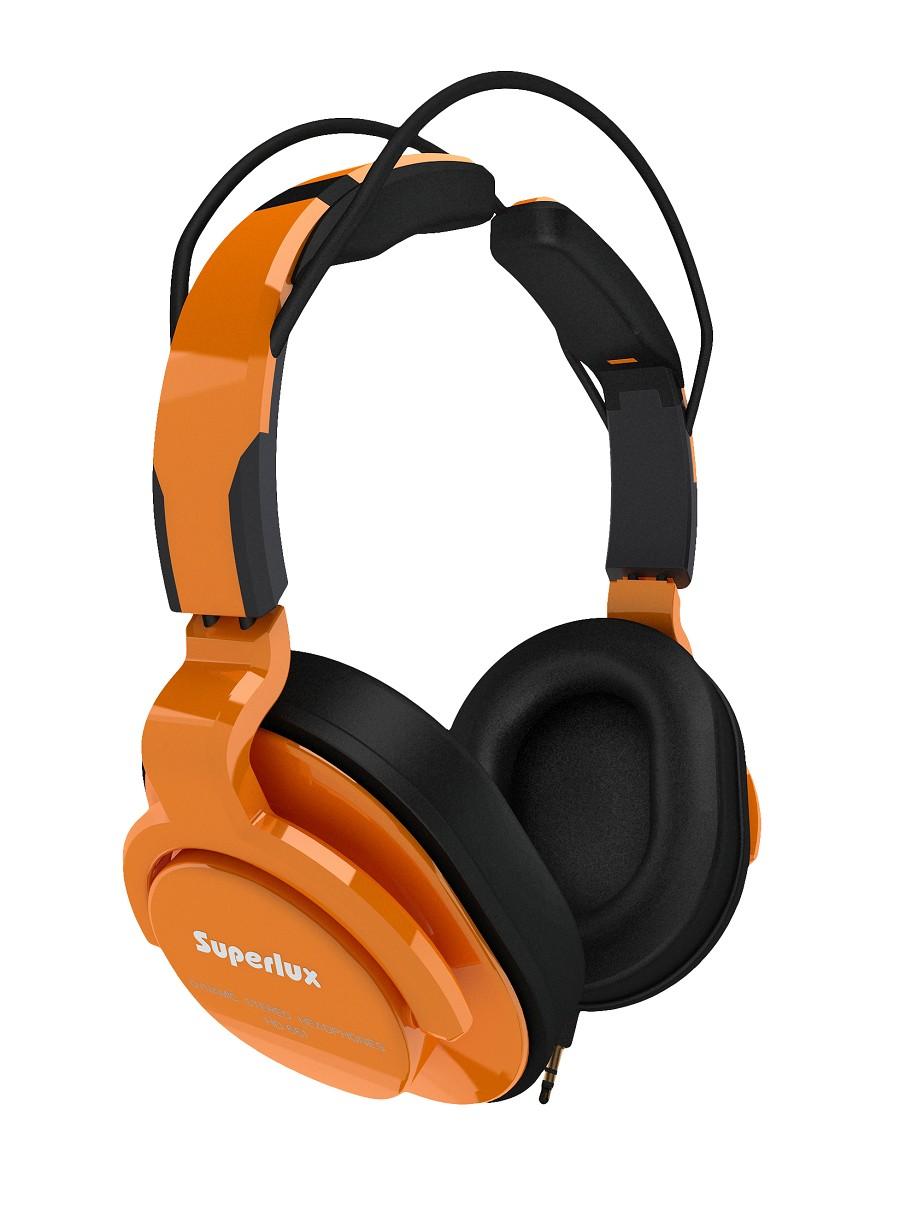 Superlux 舒伯樂 HD661 (橘色).新款全罩式專業監聽級耳機,原廠代理商公司貨,附保卡,保固一年