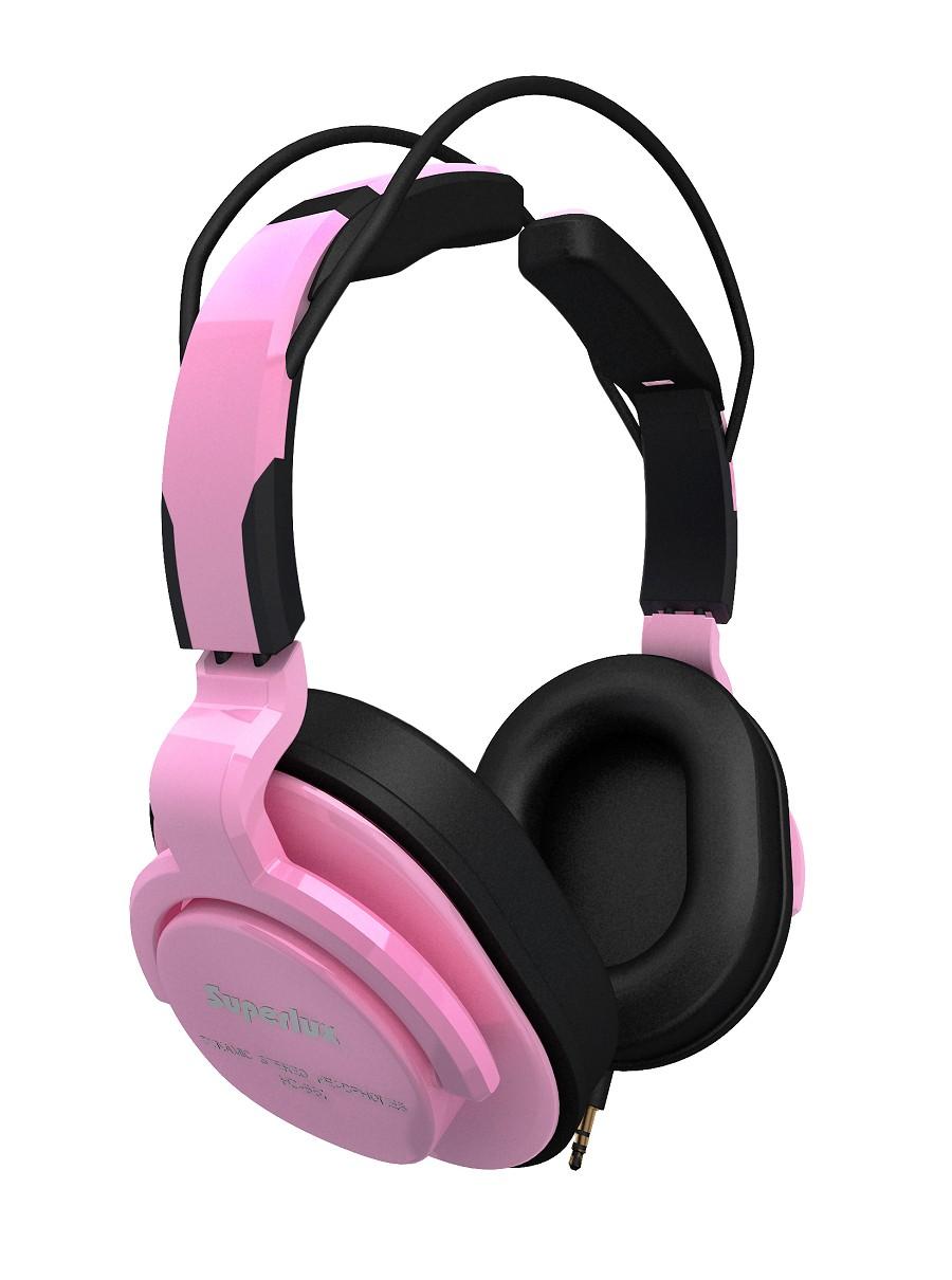Superlux 舒伯樂 HD661 (粉紅色).新款全罩式專業監聽級耳機,原廠代理商公司貨,附保卡,保固一年