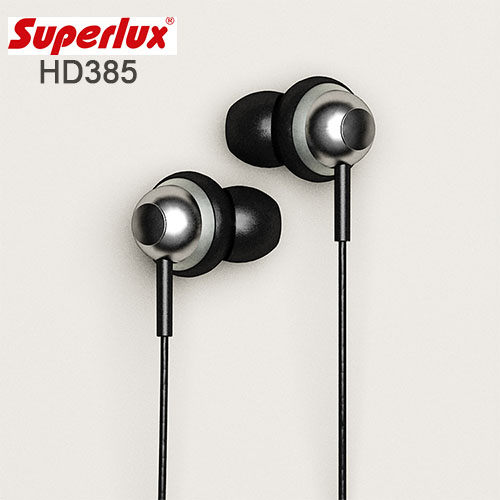 Superlux 舒伯樂 HD385 新款入耳式耳機,附收納袋,公司貨附保卡,一年保固