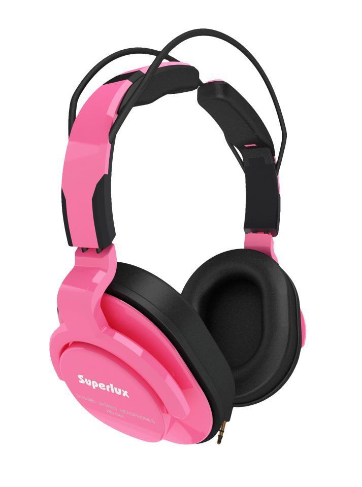 Superlux 舒伯樂 HD661 (嬰兒粉).新款全罩式專業監聽級耳機,原廠代理商公司貨,附保卡,保固一年