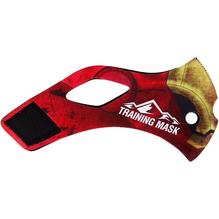 公司貨-鋼鐵人肺活量訓練~MMA訓練高海拔面罩Training Mask面罩皮~鋼鐵人面皮-M size