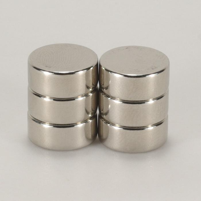 強力磁鐵釹鐵硼 圓直徑1.2公分*厚0.5公分 6個