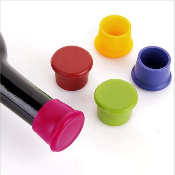 PS Mall 糖果色食品級矽膠保鮮瓶蓋 單個裝【J2003】