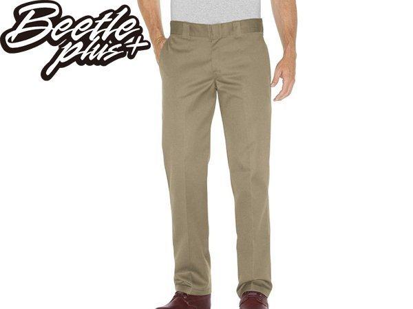BEETLE PLUS DICKIES WP873KH PANTS 美式 873 老墨 卡其 低腰 合身 工作褲