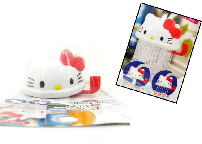 【真愛日本】14120300031 造型水龍頭套-大臉白 三麗鷗 Hello Kitty 凱蒂貓 水龍頭調節器 造型