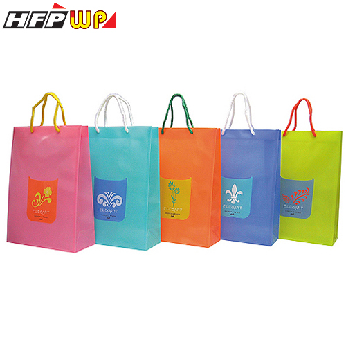 HFPWP A4手提袋 PP環保無毒防水塑膠 台灣製 BEL315 / 個