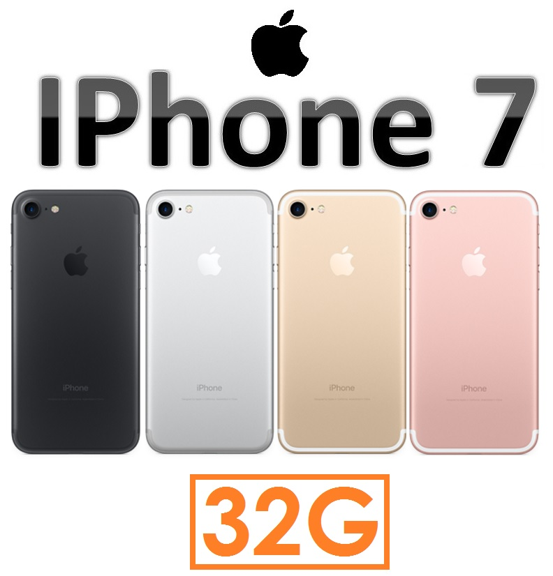【iPhone7 新機上市】蘋果 Apple iPhone 7 4.7吋(32G)4G LTE 智慧型手機 iPhone7 i7 A10 RETINA(送透明空壓殼)