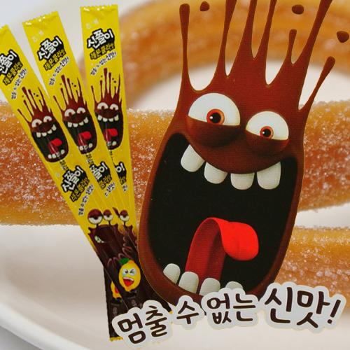 【韓購網】韓國海太酸酸軟糖(檸檬可樂口味)27g★韓國必買韓國糖果