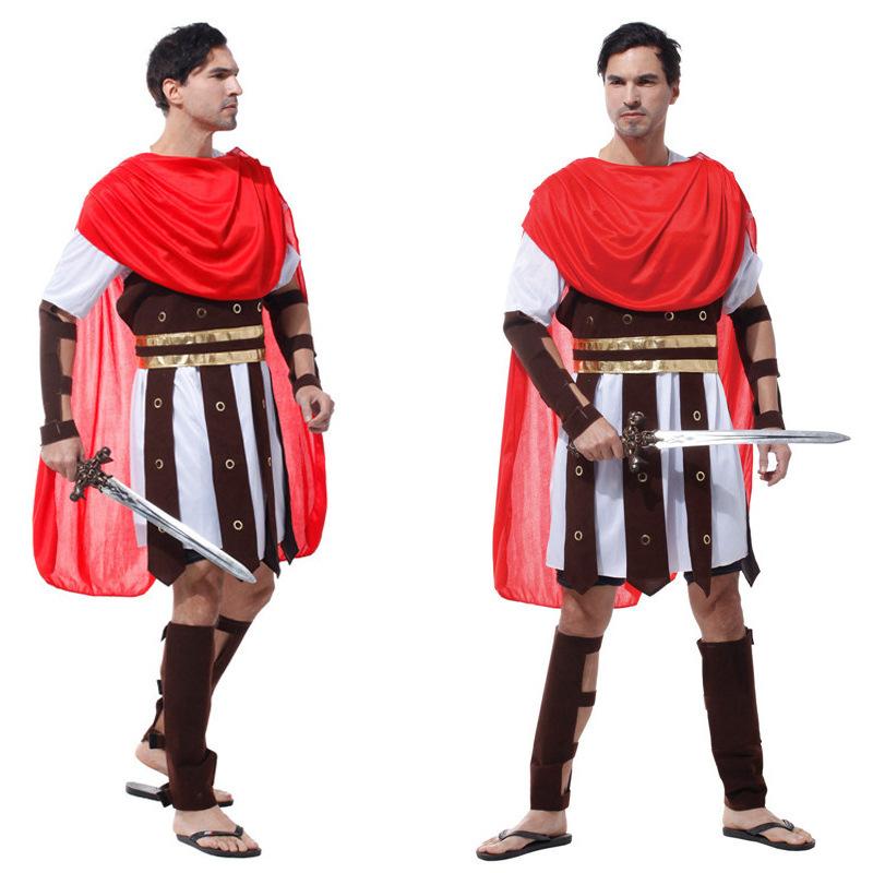 萬聖節cosplay古裝王子羅馬戰士halloween成人國王裝扮角色扮演