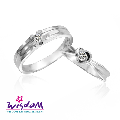 天然鑽石《心動系列》美麗人生 鑽石對戒/韓風設計、情人節、生日禮、流行款、熱銷款【威世登時尚珠寶】