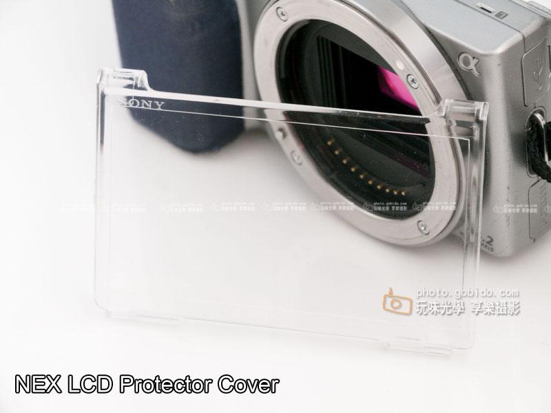 [享樂攝影] NEX 液晶螢幕LCD壓克力保護蓋  陽光 反光 錄影 相容原廠規格 NEX3 NEX5 NEXC3
