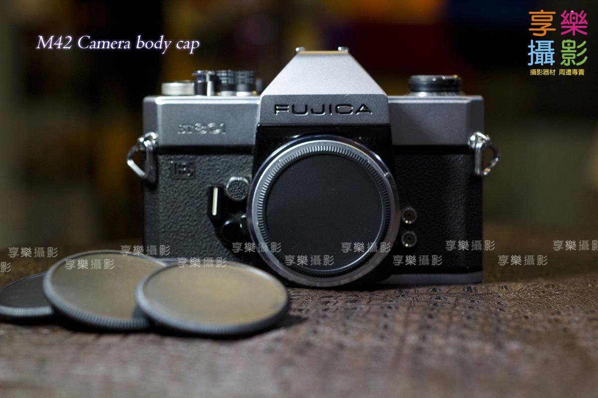 [享樂攝影]M42 塑膠機身蓋 黑色 螺紋 FUJI Fujica ST901 ST801 PENTAX SP Praktica M42 Camera body