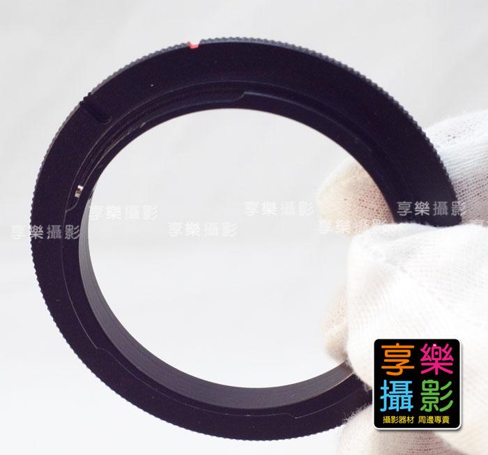 [享樂攝影] Canon 佳能用 EOS EF接環 鏡頭倒接環 鏡頭倒裝轉接 微距拍攝 Macro 52mm 58mm
