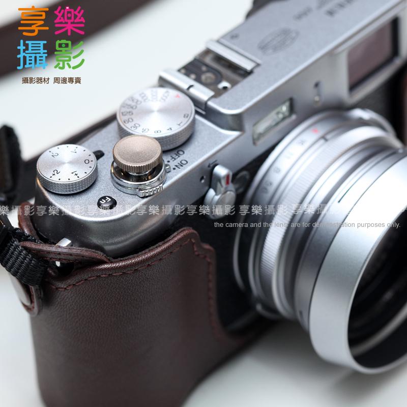 [享樂攝影] 傳統單眼機械相機快門鈕-12mm 霧面 鈦色 外接快門按鈕 手動相機 Lomo相機 只要有標準螺孔式快門孔都可以用喔! 古銅色