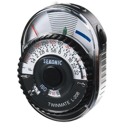 [享樂攝影] 全新免運!! 日本 SEKONIC L-208 TwinMate 簡易型測光表 正成公司貨 L208 入射 反射 測光儀 亮度表 5D3 7D2 6D D800 D600