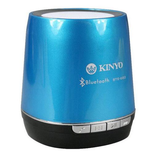 KINYO 迷你藍芽讀卡喇叭(BTS-682)