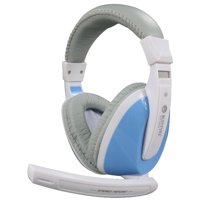 耐嘉 藍海 全罩式重低音耳機麥克風(EM-3632)