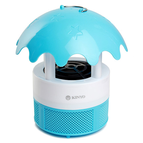 【KINYO】水滴造型USB吸入式捕蚊燈(KL-101)