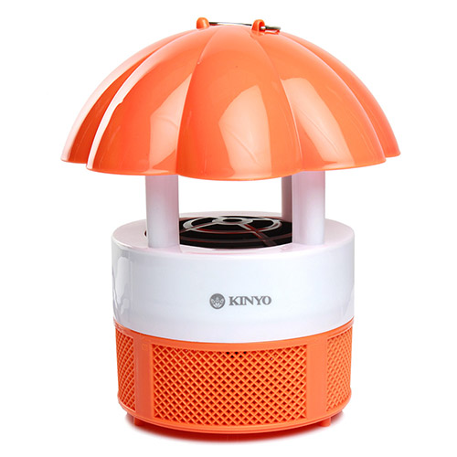 【KINYO】南瓜造型吸入式捕蚊燈(KL-103)