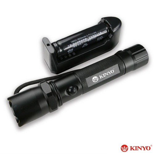 【KINYO】120流明 超亮LED晶片手電筒(LED-611)