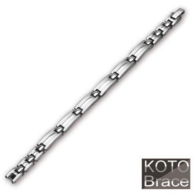 【KOTO】簡約時尚 白鋼 手鍊 / 手鏈 (S-2101)