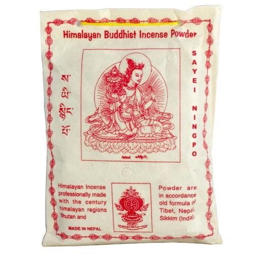 【藏傳佛教文物】地藏王菩薩 天然除障香粉 煙供粉-160g(PBI-16)