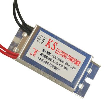 【KS】220V/60Hz轉12V/50W電子變壓器(2入)