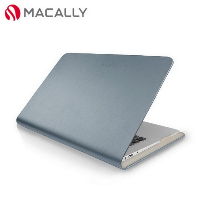 【Macally】11吋APPLE MacBook Air時尚纖薄保護套-銀(SLIMFOLIO11M)