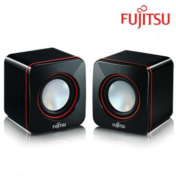 【迪特軍3C】FUJITSU富士通 USB電源多媒體喇叭(PS-110) 體積小巧 USB供電 具備電源及音量控制