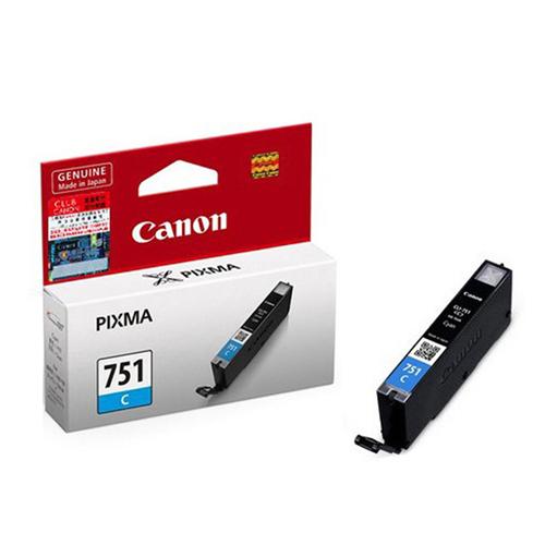 CANON CLI-751C 原廠藍色墨水匣 CLI-751 C 適用 iP7270/iX6770